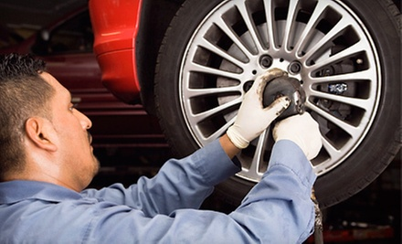$49 for a 4 Wheel Alignment at 714 Tires