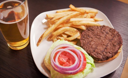 $10 for a Draft Beer & Burger (Up to $21 Value) at Opal Bar and Restaurant