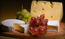 $11 for a Tasting Event for Two with One Meat and Cheese Platter at GenuWine Tasting Room