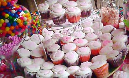 $10 for A Dozen Cupcakes  at Crickette&#x27;s Cakes