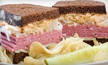 $6 for $10 Worth of Food and Drink at New York Deli - DC