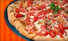 $22 for Two Five-Topping Medium Pizzas, 12 Breadsticks, and Two Pops at Pizza Guys