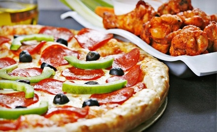 $5 for $10 Worth of Pizza & Wings at Buffalo Brothers Pizza and Wings