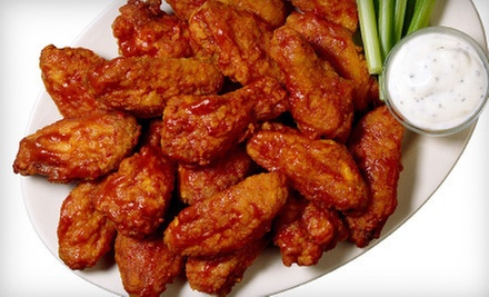 $5 for $10 at Planet Wings