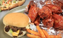 $10 for Carry Out Lunch or Dinner for Two at Sliderz Pizza