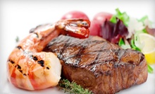 $25 for $50 at Stirling's Restaurant at Crowne Plaza Valley Forge