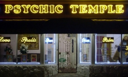 $15 for a Tarot Card Reading at Psychic Temple