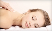$55 for Deep Tissue Massage and Hot Towel Cold Stone Facial Massage at Massage49