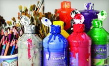 $25 for a Two-Hour Adult Painting Class at 4 p.m. at Xpress Art Center