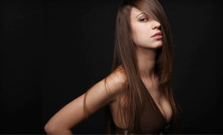 $12 for $25 Worth of Hair Services  at Tres Chic Salon and Spa