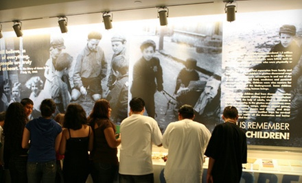 $8 for One General Admission at The Museum of Tolerance, Simon Wiesenthal Center