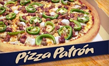 $10 for $20 at Pizza Patrón Pizzas Houston
