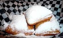 $4 for One Beignet and One Cafe Au Lait at Queen's Louisiana Po-Boy Cafe