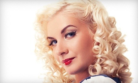 $92 for a Cut and Color with Marissa at Pimps &amp; Pinups