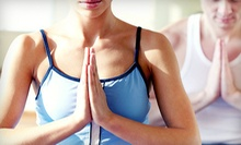 $5 for $10 value for Community Hatha Yoga Class at LYFE Yoga Center
