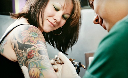 $60 for $120 Worth of Tattoo Services at Miami Tattoo Lounge