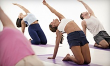 $8 for 12pm Yoga Class at Sculpt Fusion Yoga