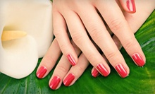 $35 for a Spa Mani-Pedi  at Lucci Beauty Salon &amp; Nails