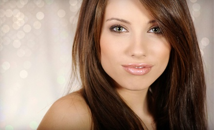 $18 for a Haircut and Style with Deep Conditioning Treatment at A Wild Safari Hair and Nail Salon