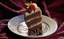 $8 for Any Slice of Cake and a Large House Coffee (Up to $13 Value) at Gallery de Sweets