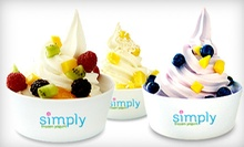 $4 for $6 at Simply Frozen Yogurt