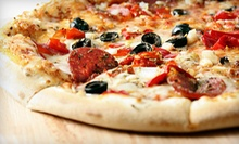 $7 for $14 Worth of Pizza and Beverages at Pyzanos Lounge &amp; Grill