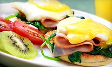 $5 for Your Choice of Egg Benedict at City Tavern