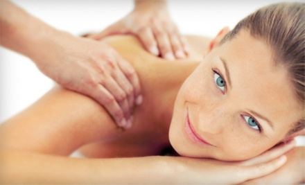 $65 for a 55-Minute Massage & Exfoliating Back Scrub  at Diversified Touch Massage