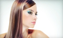$199 for a Natural Keratin Complex Smoothing System at Cactus Salon &amp; Spa