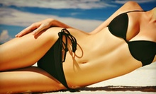 $25 for a Heated Airbrush Tanning Session at Blu Laguna Salon and Spa