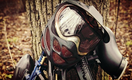 $45 for Paintball with Guns, Masks, Air, and 200 Balls for Two at Operation Paintball Seattle