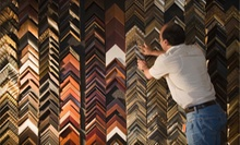 $29 for $60 Worth of Custom Picture Framing at The Framing Corner