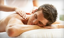 $35 for 30-Minute Cleansing Facial &amp; 30-Minute Swedish Massage at Studio Spa &amp; Garden of Healing