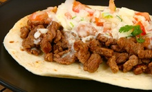 $17 for Two Chicken or Beef Fajita Plates with Two Drinks at Aztecas Restaurant and Bar