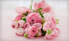 $25 for $50 Worth of Flowers at Designs by Donna