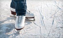 $19 for Two Ice Skating Admissions with Skate Rental, Food, and Soda at Aviator Sports &amp; Events Center