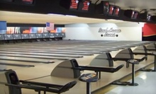 $15 for Shoe Rental, Unlimited Bowling, and a 1-Topping Pizza at Airport Plaza Bowl