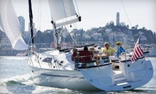 $247 for a Private 3-hour Intro Sailing Trip for Six People at Sail Ventures USA