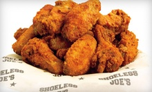 $15 for $30 Worth of Food and Drinks at Shoeless Joe's Toronto
