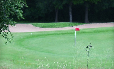 $59 for 18 Holes of Golf, Cart Rental &amp; Range Balls for Four at Cross Timbers Golf Course