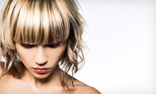 $75 for Partial Highlights, Hair Cut & Protein or Moisture Treatment at Moda Salon Detroit