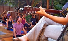 $6 for a 10 a.m. Yoga Class  at Riffs Acoustic Music