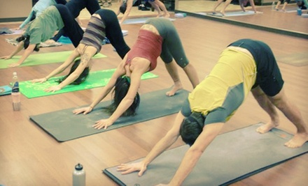 $10 for a Drop-In Baptiste Power FlowYoga Class at 1:30 p.m. at Yoga Unlimited
