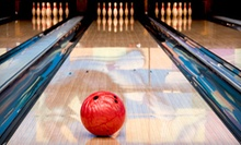 $22 for 4 Ellio's Pizzas, 4 Games of Bowling, and 4 Shoe Rentals at Baldwin Bowl