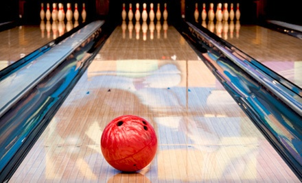 $23 for 4 Games of Bowling, 4 Shoe Rentals, and 4 Bags of Popcorn at Baldwin Bowl