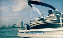 $109 for a 6 p.m. Sunset-Cruise Boat Rental for Up to 10ppl at Reeves Coastal Cruises