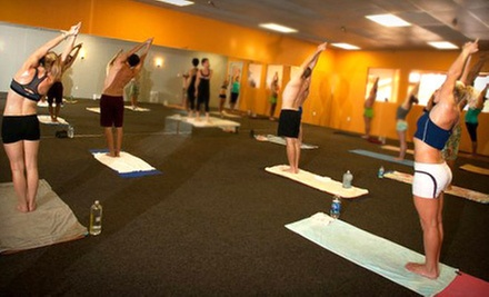 $10 for a Yoga Class at 9:15  a.m. at Bikram Yoga Delray Beach