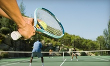 $10 for One-Hour of Private Court Time with Ball Machine at Huber Tennis Ranch