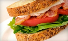 $8 for Two Sandwiches/Wraps, Two Sides & Two Drinks at Yorktown Deli & Coffee