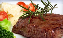 $10 for $20 at Talia's Steakhouse & Bar